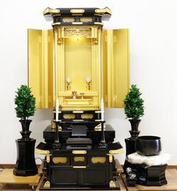 創価仏壇正徳58‐26 中古691