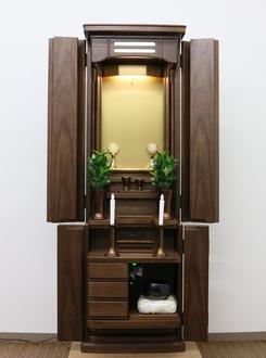 創価家具調仏壇:エトラント・ウオールナット千葉県のお客様にご注文頂きました。