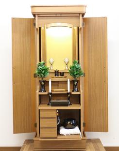 創価学会 家具調 中古仏壇 703を購入した頂きましたお客様より感謝メール頂きました。