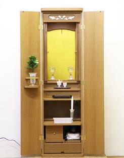 創価家具調仏壇:ニュースマイル・ライト愛知県に出荷