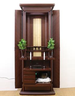 創価家具調仏壇:エンブレイスレッド
