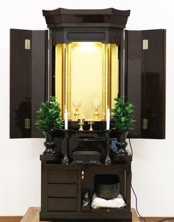 厨子型 中古仏壇 B749 驚きの6万円台でご提供いたします!