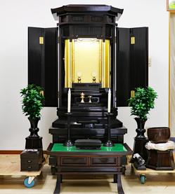 創価学会 家具調 中古仏壇 B801のサムネイル画像