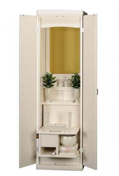 創価学会 家具調仏壇ネット販売 「リベルタ」 アイボリー:静かな人気商品です