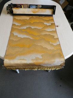創価仏壇の緞帳(どんちょう:幕)の修理はできますか?
