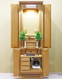 創価学会 家具調仏壇 「エトラント」 ホワイトオーク:入荷しました。