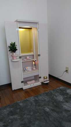 創価学会 家具調 中古仏壇 873 スマート :熊本県のお客様からお礼のメッセージを頂きました