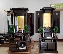 創価学会 厨子型 中古仏壇 881翼:成田のお客様に即買いお持ち帰り頂きました!