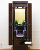 創価学会 アウトレット家具調仏壇 「コメット」 ローズ:女性に大人気の商品です、