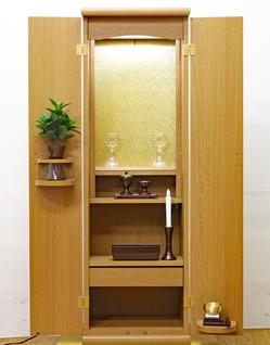 創価学会 アウトレット 家具調仏壇 「スマート」 ライト:東京のお客様にご注文頂きました。