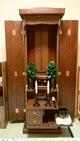 創価学会 家具調仏壇 「ラックス」 ダーク:購入のお客様よりコメントを頂きました。