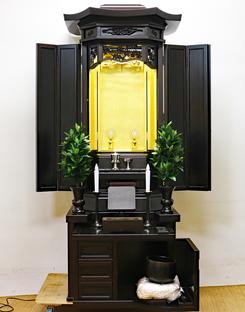創価学会 厨子型 中古仏壇 946 金剛堂 21号黒檀厨子:発売しました!