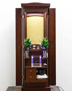 創価学会 家具調仏壇 「ラックス」 ダーク:長野県のお客様にご注文頂きました