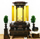 創価学会 厨子型中古仏壇 954 シャム柿 徳島仏壇 経机:発売しました。