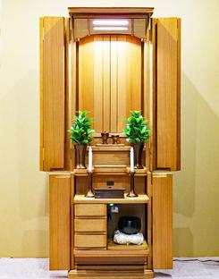 創価学会 家具調仏壇 「エトラント」 ホワイトオーク:ご注文頂きました。