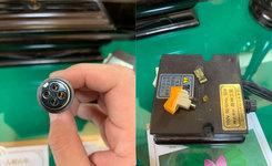 阪神工芸スイッチ故障:代替品有りますか?LINEから画像送っていただく