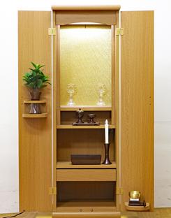 創価学会 アウトレット 家具調仏壇 「スマート」 ライト:山梨のお客様よりご注文頂きました