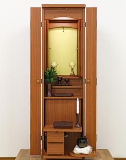 創価学会 家具調仏壇 「セリオ」 オーク 手動:北海道よりご注文頂きました