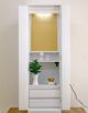 創価学会 家具調仏壇 「ルーチェ」 ホワイト:購入いただき御礼のメッセージを届きました。