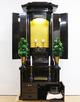 創価学会 厨子型 中古仏壇 1056 勝利 2型 黒檀:桜梅桃李.comから発売しました。