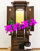 創価学会 厨子型 中古仏壇 1028:山口県からご注文いただきました。