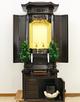 創価学会 厨子型 中古仏壇 1057 21号黒檀厨子:桜梅桃李から発売しました