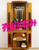 創価学会 家具調 中古仏壇 1065 チーク総無垢 野ぶどう:売約済み!