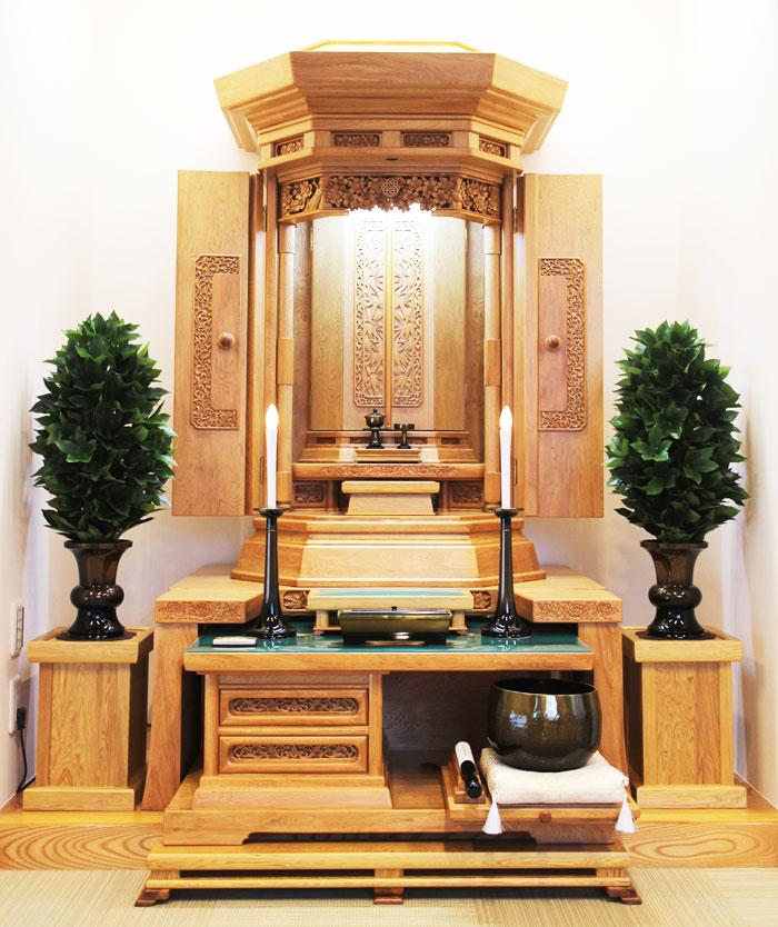 屋久杉の創価仏壇のサムネイル画像