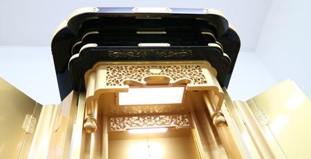 創価学会仏壇正徳60 厨子型 特別特装ご本尊ご安置 11.18